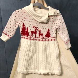 Janie and Jack Christmas sweater 3-6 months